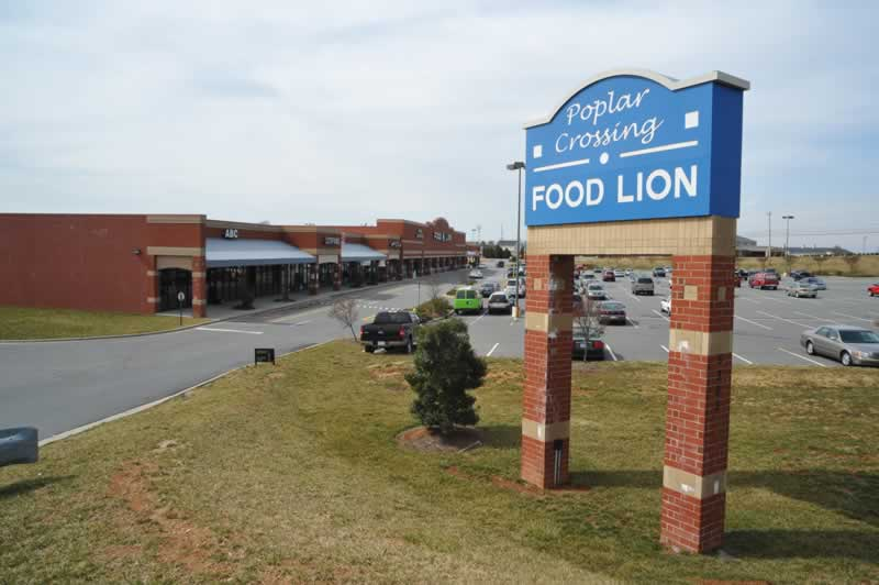 Poplar Crossing Shopping Center & Poplar Crossing - Concord NC | Commercial Residential and Retail ...
